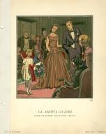 La Sainte-Claire | Robe de Diner, de Jeanne Lanvin
