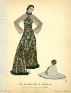 Un Admirateur Sincere | Robe du Soir, de Paul Poiret