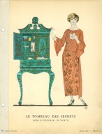 Le Tombeau des Secrets | Robe D'interieur, de Worth