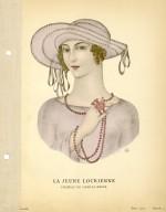 La Jeune Locrienne | Chapeau de Camille Roger