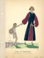 Voila le Printemps | Robe D'Apres-Midi, de Paul Poiret