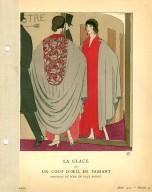 La Glace | ou | Un Coup D'Oeil en Passant | Manteau du Soir, de Paul Poiret