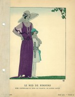 Le Nid de Pinsons   Robe D'Apres-Midi et Robe de Fillette, de Jeanne Lanvin