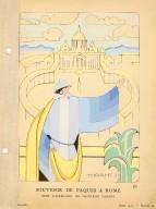 Souvenir de Paques a Rome | Robe D'Apres-Midi, de Madeleine Vionnet