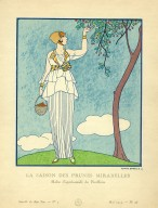 La Saison des Prunes Mirabelles | Robe d'apres-midi de Redfern