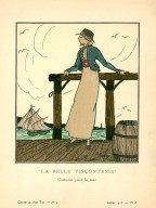 &#034;La Belle Viscontesse&#034; | Costume pour la mer