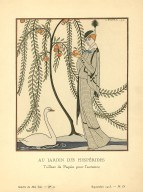 Au Jardin des Hesperides | Tailleur de Paquin pour l&#039;automne