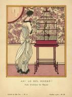 Ah! Le Bel Oiseau! | Robe d'interieur de Doucet