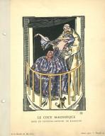 Le Cocu Magnifique | Robe en Taffetas Imprime, de Bianchini