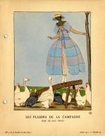 Les Plaisirs de la Campagne | Robe de Paul Poiret