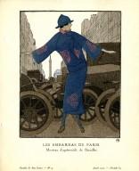 Les Embarras de Paris | Manteau d'apres-midi, de Doeuillet