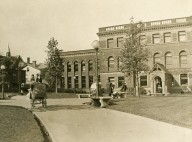 [Library Park, October 1919, When the Park was Opened]
