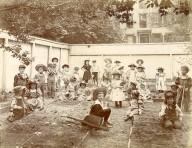 [Kindergarten - Children in Garden]