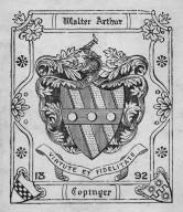 Copinger, Walter Arthur