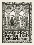 James E. Howell Collection of Books in English Literature, The