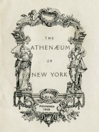 Athenaeum of New York, The