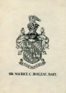 Boileau, Sir Maurice C.