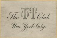 W T Club New York City, The