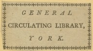 General Circulating Library, York