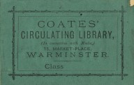 Coates' Circulating Library