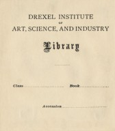 Drexel Institute of Art, Science, and Industry Library