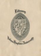 Library of the Johns Hopkins University