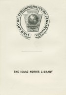Isaac Norris Library, The