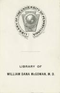 McGowan, William Dana