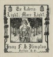 Plimpton, Jenny F. H.
