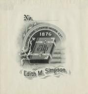 Simpson, Edith M.