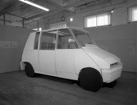 [Art School -- Industrial Design -- Taxi Model at Transportation Laboratory]