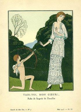 Tais-Toi, Mon Coeur!.. | Robe de lingerie de Doeuillet