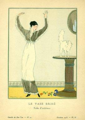 Le Vase Brise | Robe d'interieur