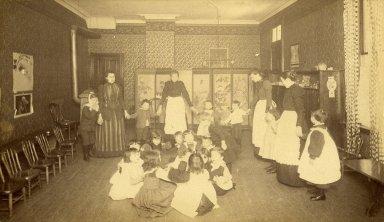 [Kindergarten Dept. 1892-4 - Free Kindergarten]
