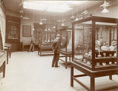 [Museum - Library, Noorian Collection April 1900]