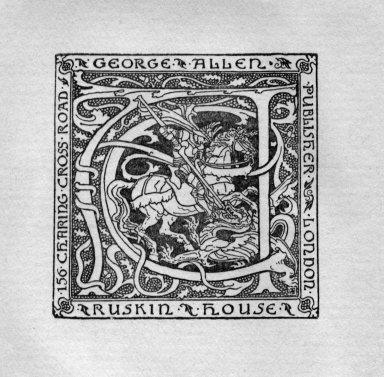 George Allen Publisher, Ruskin House