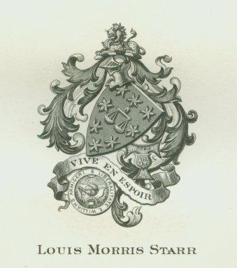 Starr, Louis Morris