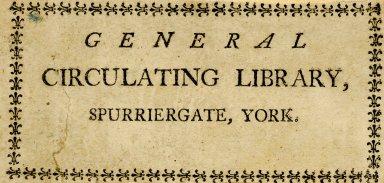 General Circulating Library