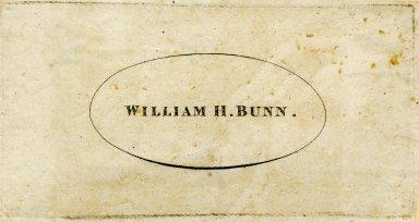 Bunn, William H.