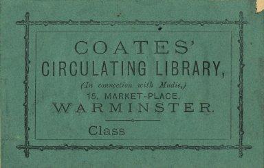 Coates' Circulating Library