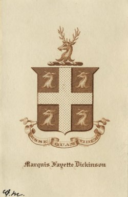 Dickenson, Marquis Fayette