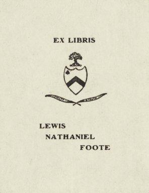 Foote, Lewis Nathaniel
