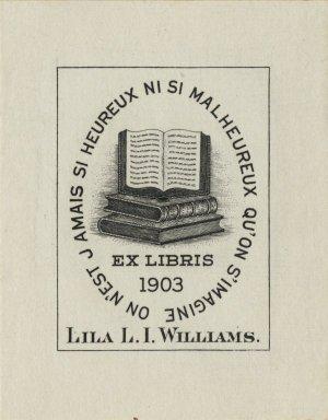 Williams, Lila L.I.