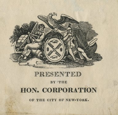 Hon. Corportion of the City of New-York