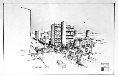 [Architecture -- City Projects, Columbus Avenue]