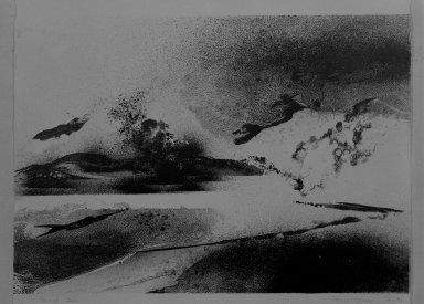 "[Art School -- Lithograph -- ""Sacred Isle""]"