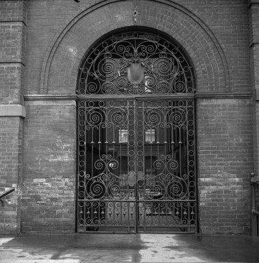 [Campus -- South Hall Gate]