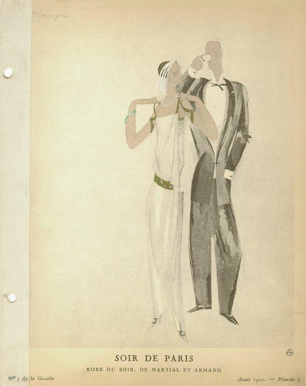 Soir de Paris | Robe du Soir, de Martial et Armand, Soir de Paris | Robe du Soir, de Martial et Armand