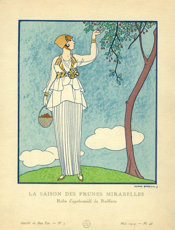 La Saison des Prunes Mirabelles | Robe d'apres-midi de Redfern, La Saison des Prunes Mirabelles | Robe d'apres-midi de Redfern