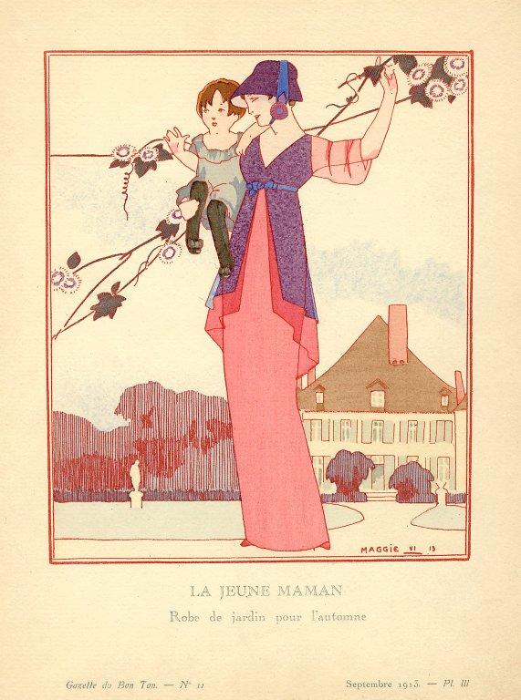 La Jeune Maman | Robe de jardin pour l'automne, La Jeune Maman | Robe de jardin pour l'automne